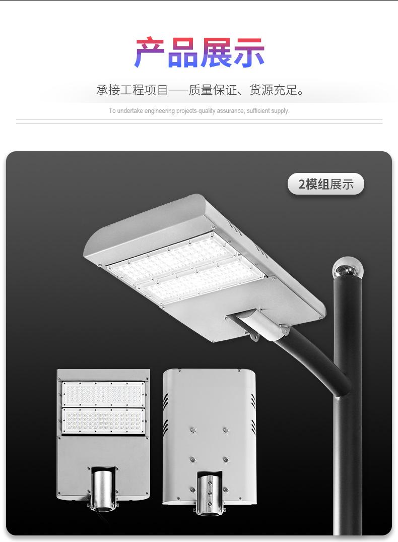 专业户外LED道路照明灯 高杆庭院小区灯 新农村道路照明 2模组