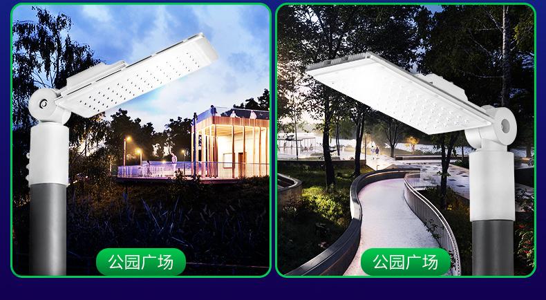 智能光控 红外线遥控LED路灯 30W-50W FL-LD-KM4