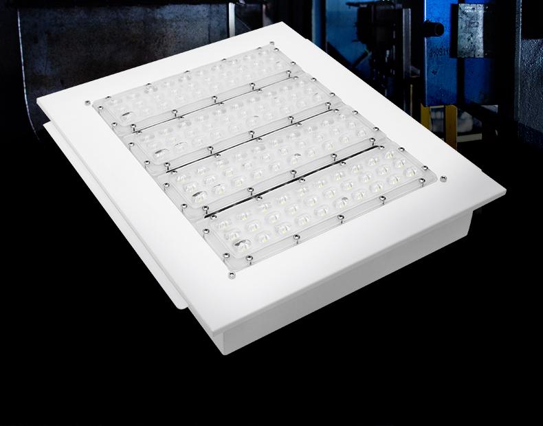 嵌装LED防爆加油站灯100W