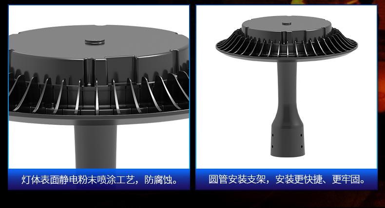 欧美式大功率LED庭院灯 FL-TYD-AEH1