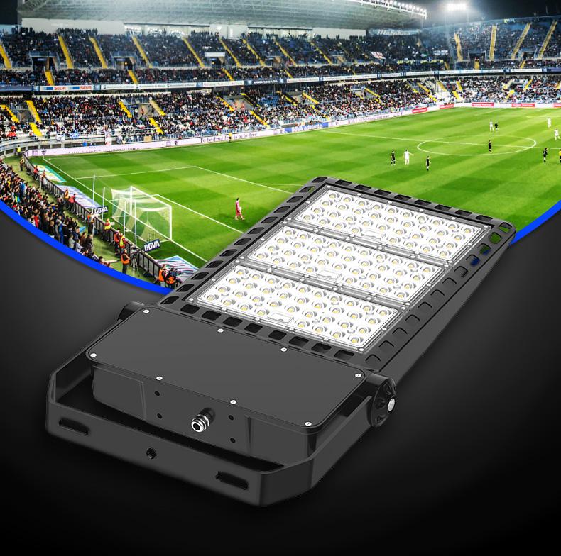 2020新款 U型支架安装 LED投光灯300W泛光灯 球场灯 停车场照明 FL-TGD-AEH2
