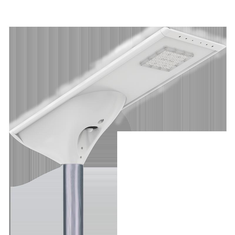 新款私模一体化太阳能路灯庭院灯微波雷达人体红外感应高光效路灯FL-YTH-KM1-1