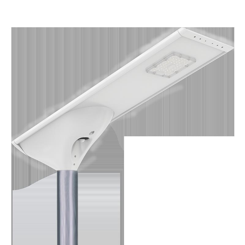 新款私模一体化太阳能路灯庭院灯微波雷达人体红外感应高光效路灯FL-YTH-KM1-2