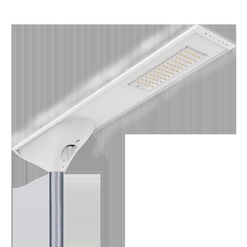 新款私模一体化太阳能路灯庭院灯微波雷达人体红外感应高光效路灯FL-YTH-KM1-3