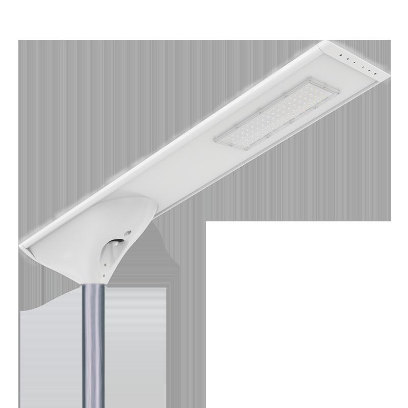 新款私模一体化太阳能路灯庭院灯微波雷达人体红外感应高光效路灯FL-YTH-KM1-4