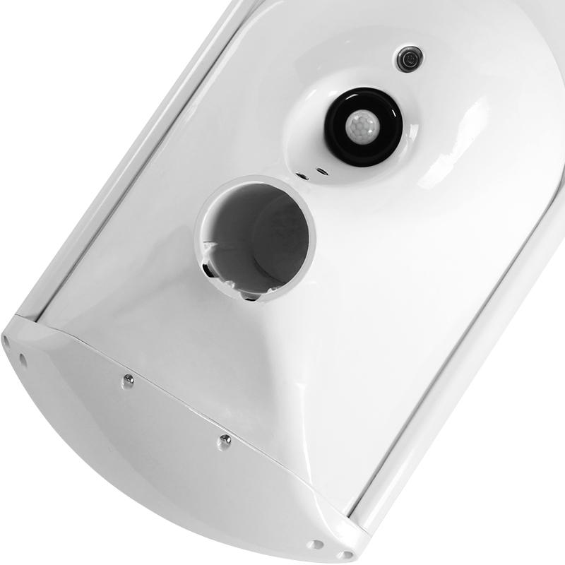 微波雷达人体红外感应高光效路灯 30W 太阳能庭院路灯