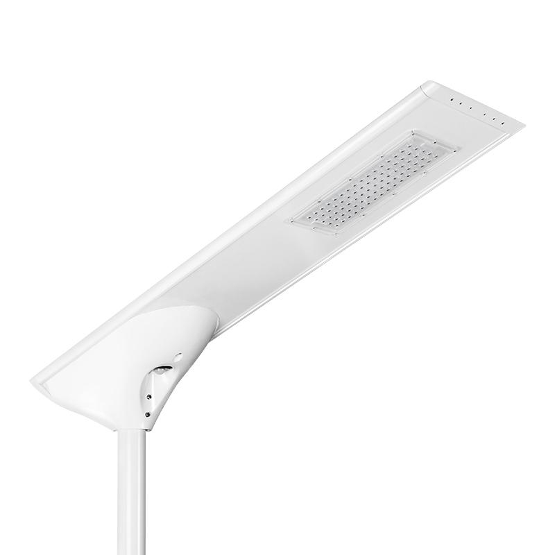 一体化太阳能庭院路灯 智能感应路灯 40W 工程路灯