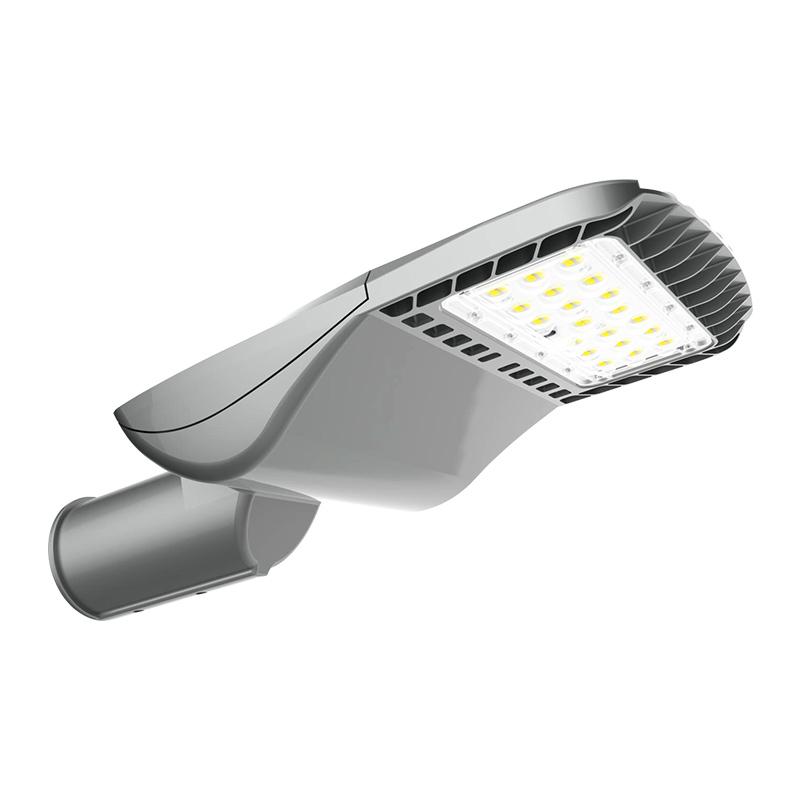 停车场压铸铝运动传感器100W 150w IP66室外路灯立柱LED路灯